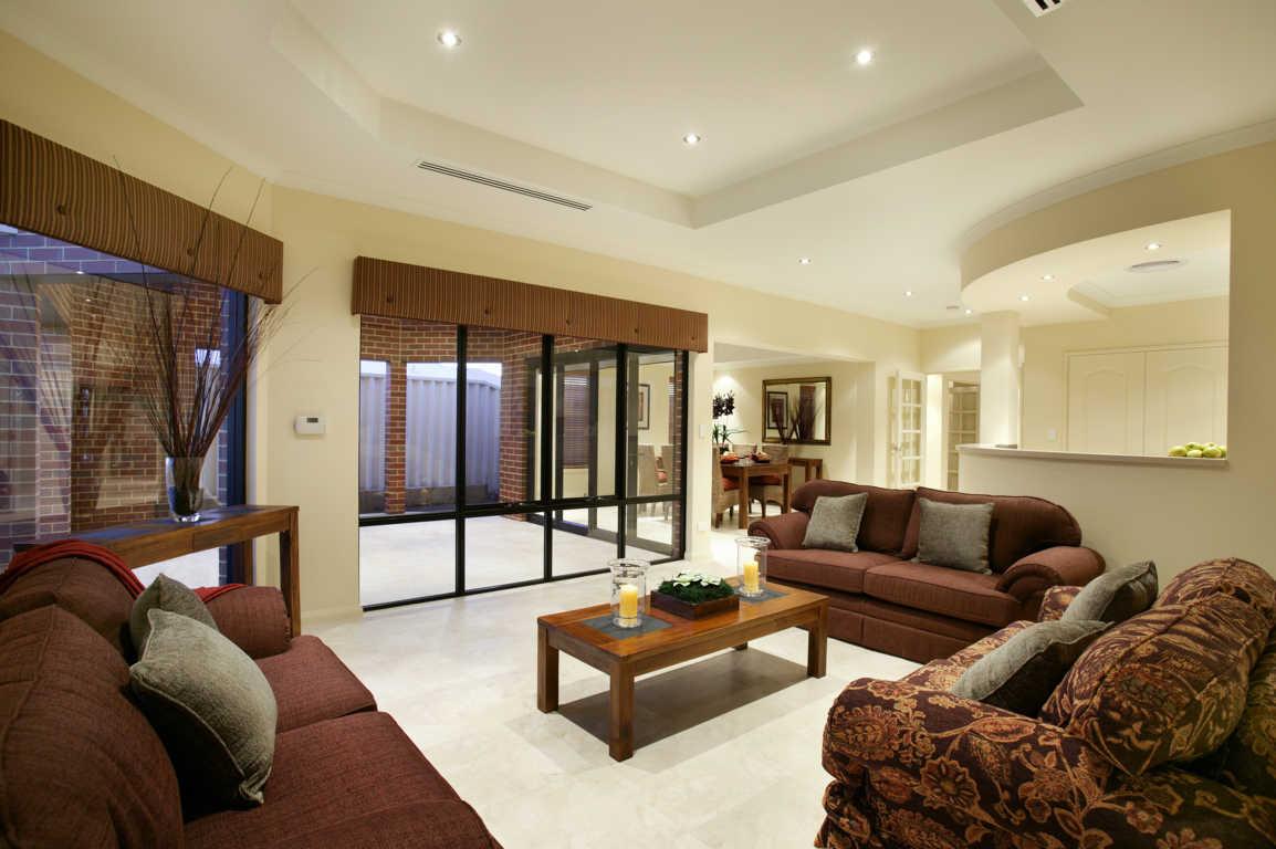 contoh interior rumah mewah