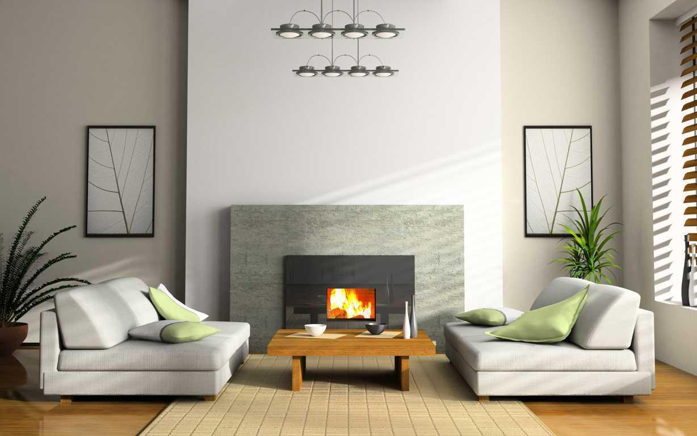 desain interior rumah mewah 2 lantai