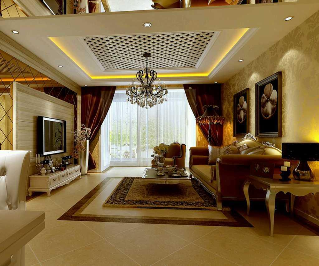 interior rumah mewah dunia