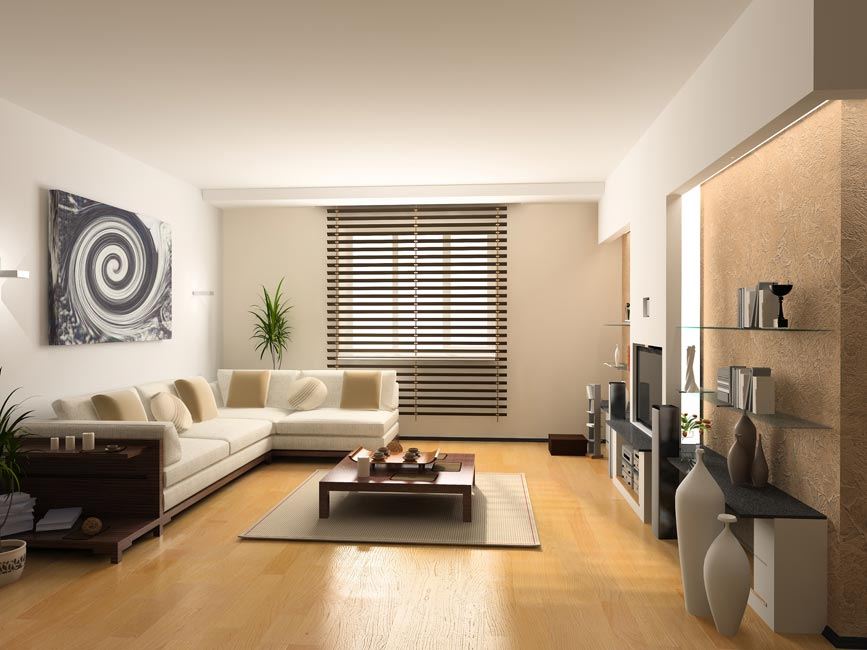 model interior rumah mewah