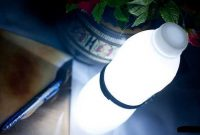 Bentuk Lampu Kamar Tidur Unik Dari Botol Bekas