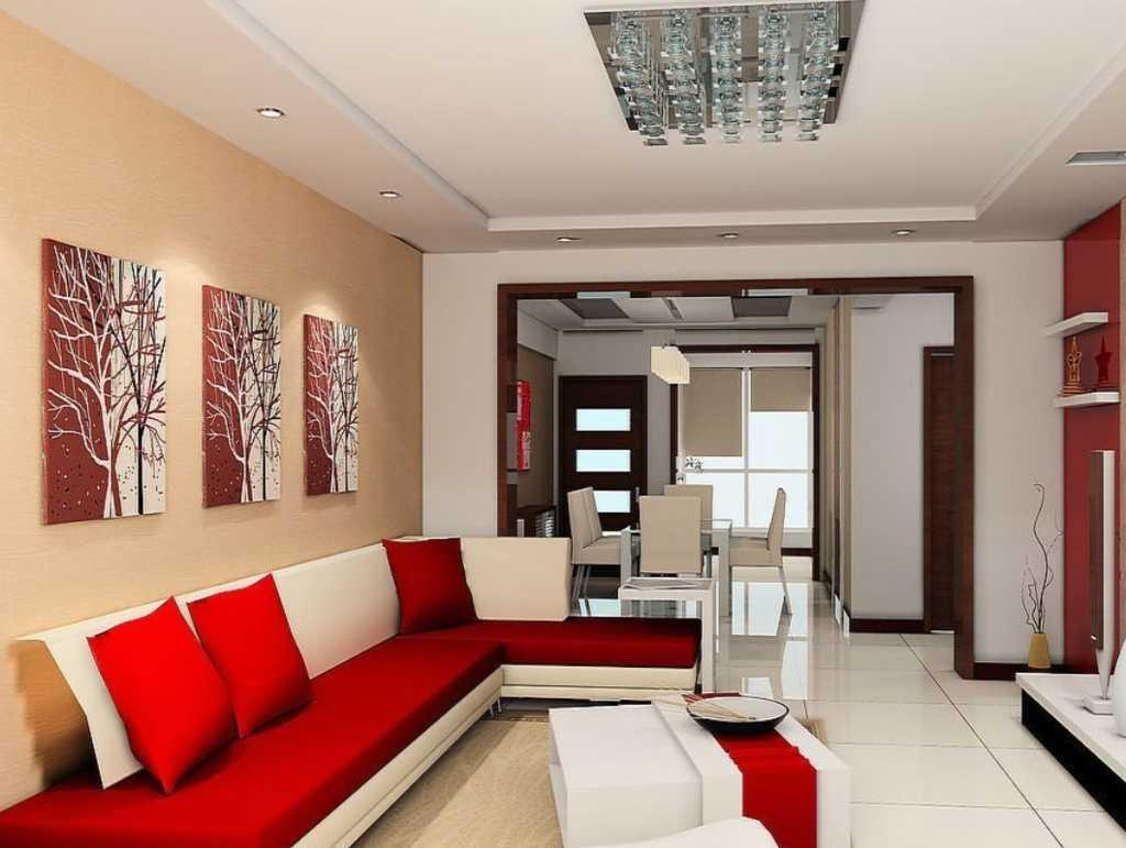Bentuk Sofa L Untuk Ruang Tamu Sempit