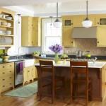 Cat Dinding Dapur Kuning