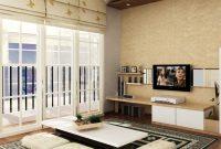 Desain Ruang Tamu Rumah Model Gaya Jepang