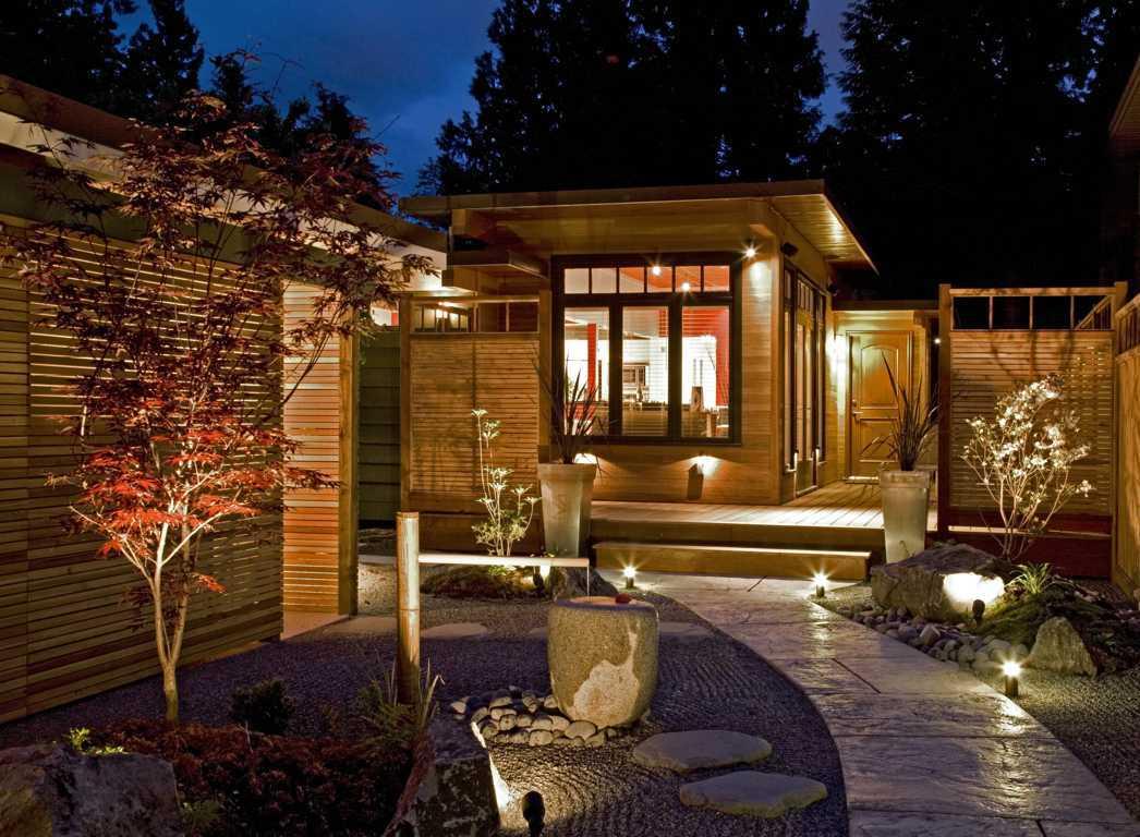 Desain Taman Rumah Gaya Jepang