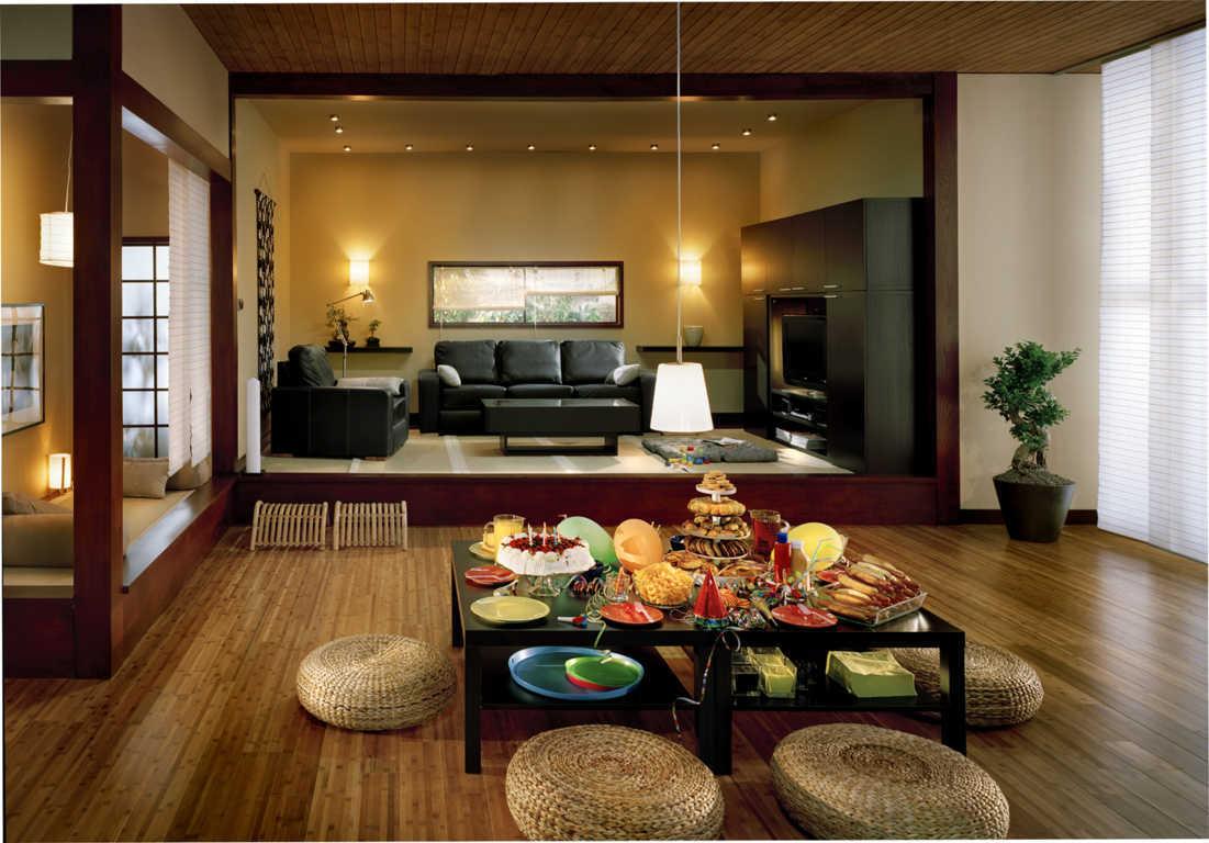Interior Ruang Makan Rumah Jepang Nyaman