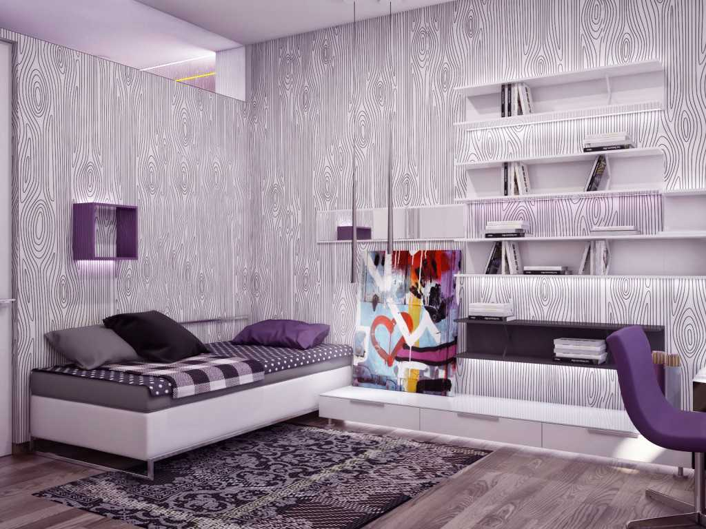 Motif Warna Wallpaper Dinding Kamar  Tidur Terbaru Desain