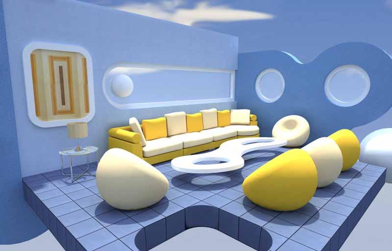 Kombinasi Cat Dinding Warna Biru Muda Terbaru