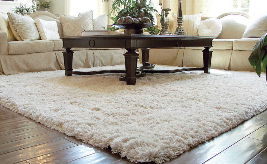 Model karpet bulu untuk ruang tamu