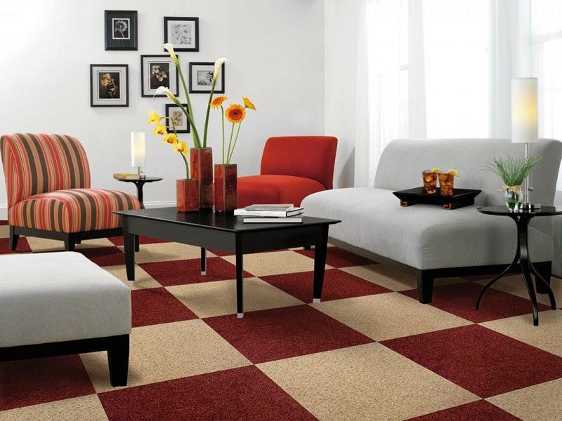 Model karpet yang umum dipakai di ruang tamu