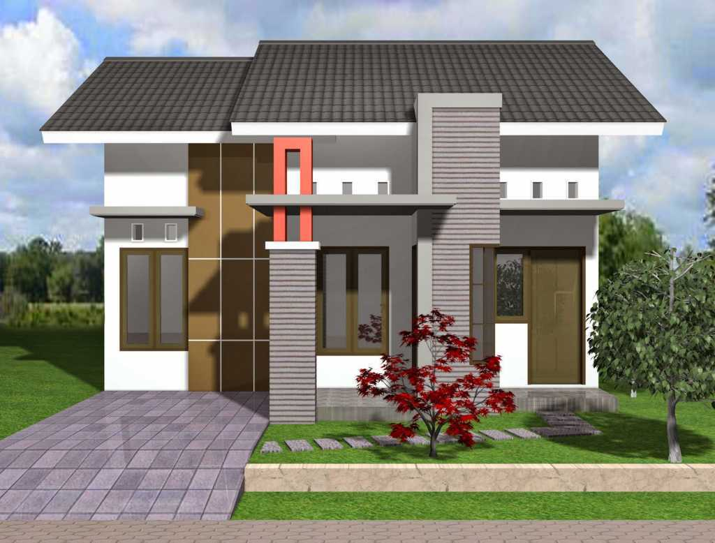 Model rumah type 36 72