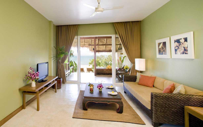 warna cat yang bagus untuk ruang tamu agar terlihat luas