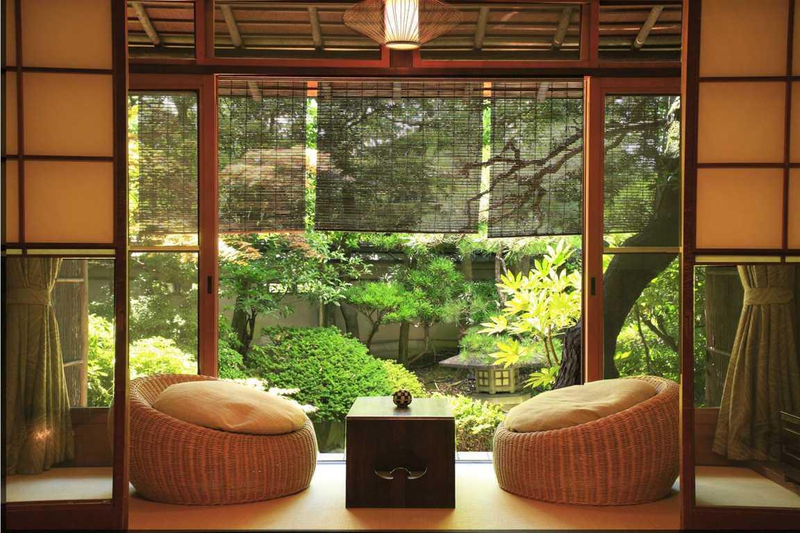 Taman dalam rumah jepang minimalis