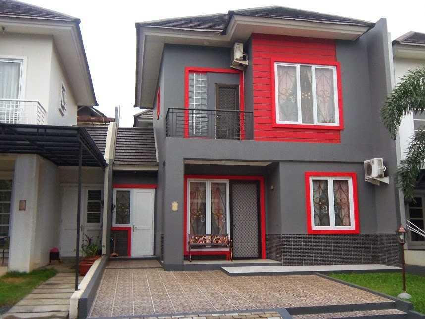 warna cat dinding rumah tampak depan minimalis desain