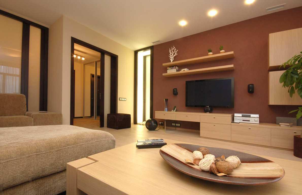 Современный дизайн для гостиной