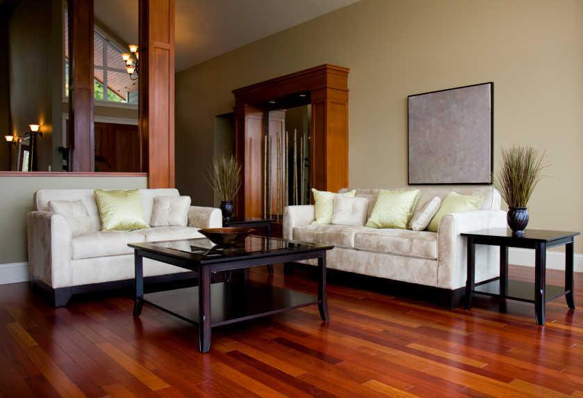 gambar interior ruang tamu dan keluarga