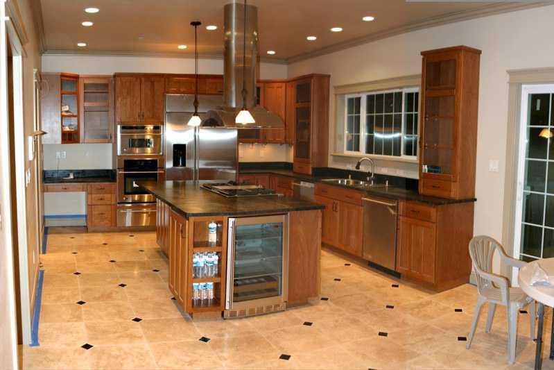 keramik lantai dapur rumah minimalis