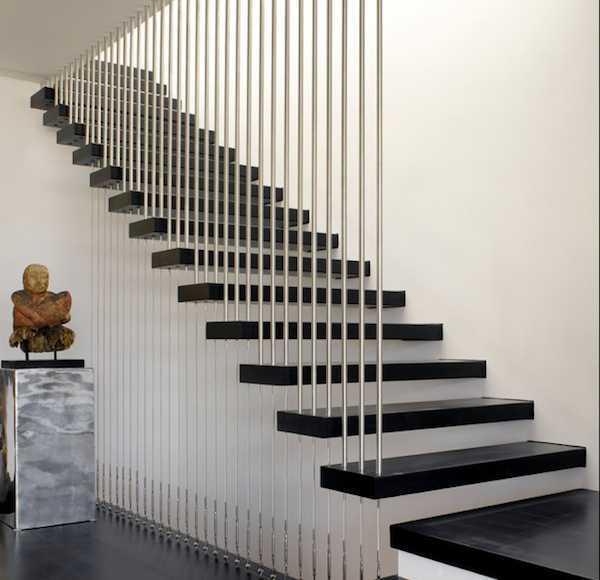 model tangga rumah minimalis modern