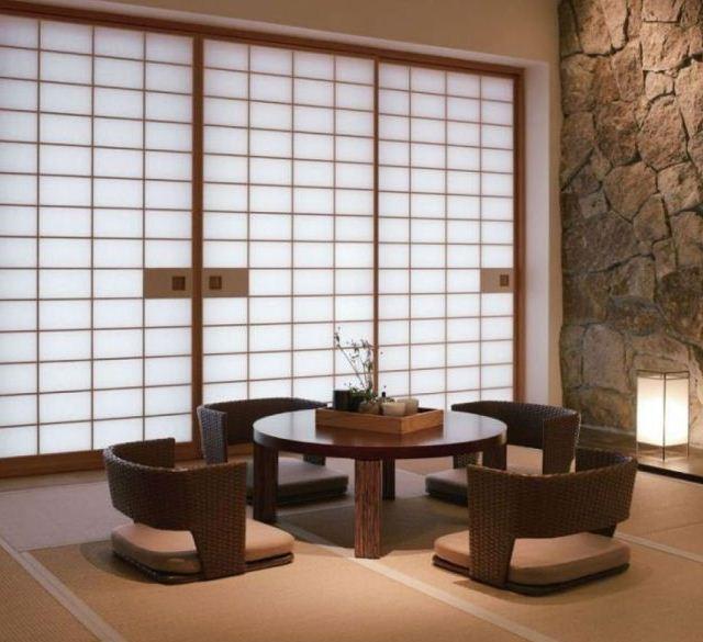 perabotan ruang tamu model jepang