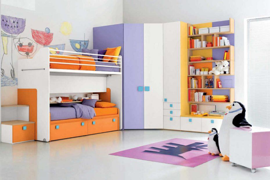 set kamar tidur anak laki-laki