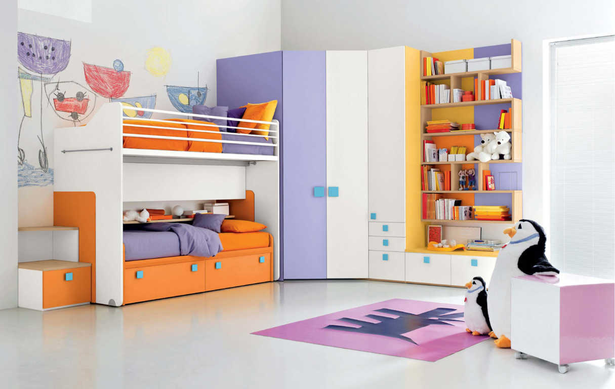 model kamar set anak laki laki dan perempuan terbaru