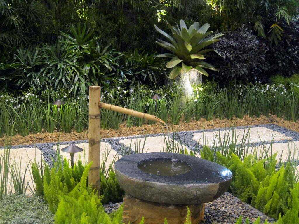 taman kecil gaya jepang