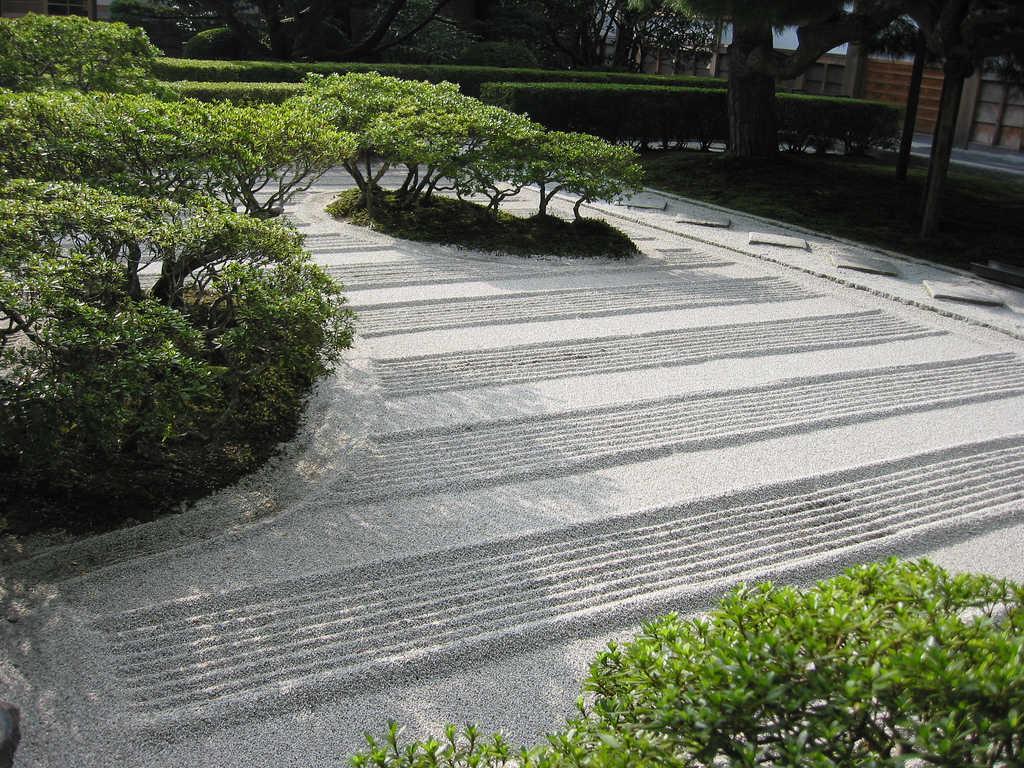 taman rumah gaya jepang