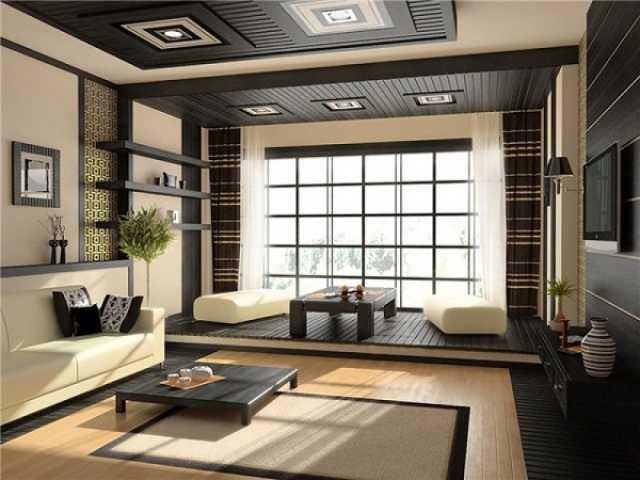 tips menata ruang tamu model jepang
