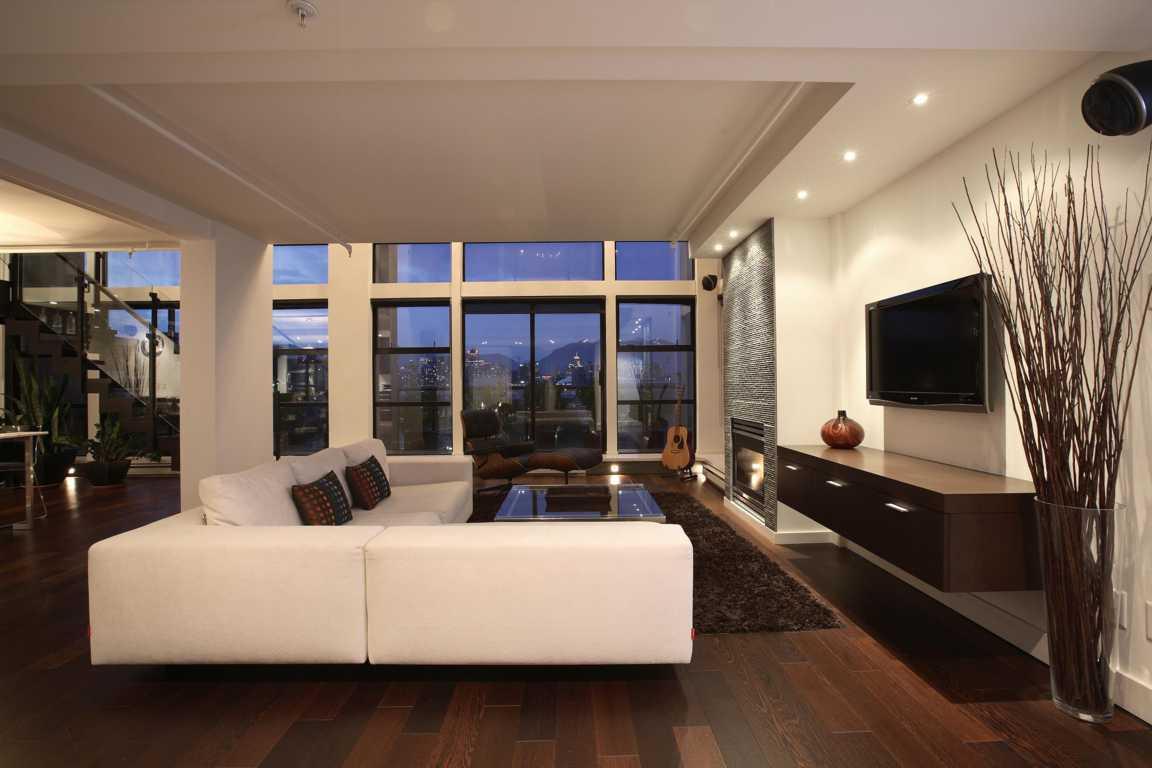 Desain Ruang Tamu Apartemen Mewah