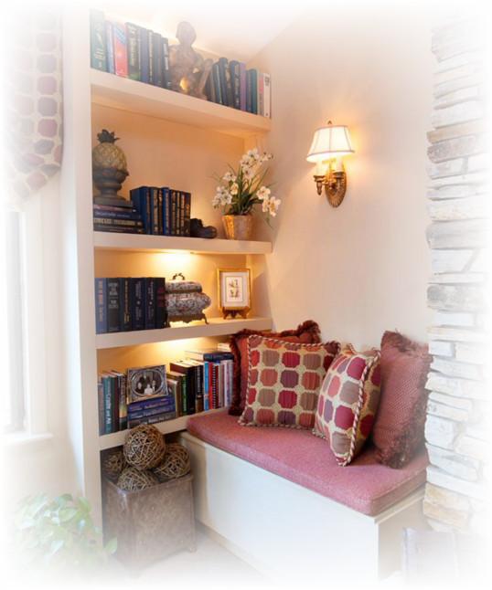 kreasi desain ruang baca yang nyaman dan bagus desain