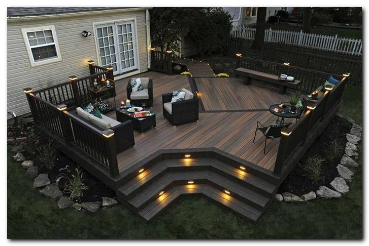 Desain halaman belakang yang indah