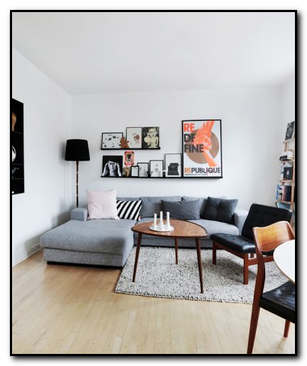 Inspirasi sofa pada ruang tamu pojok
