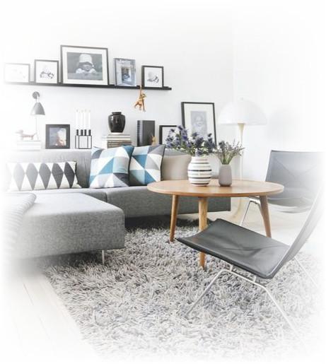 desain sofa ruang tamu pojok