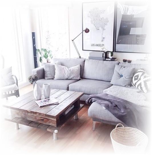 desain sofa untuk ruang pojok