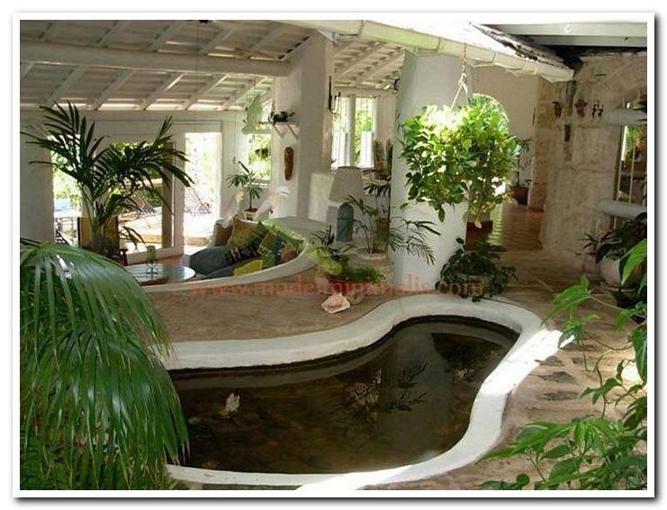 kolam ikan untuk rumah yang luas