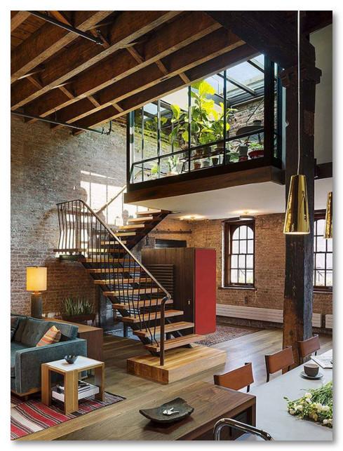 Desain Balkon Yang Masuk Ke dalam Ruangan