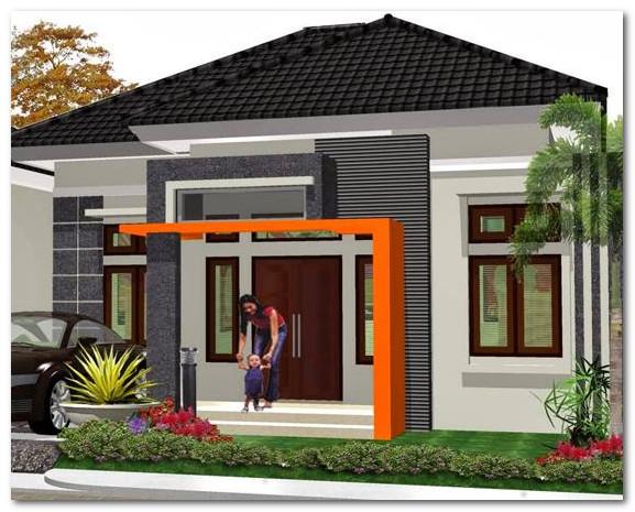 bentuk rumah minimalis sederhana yang nyaman