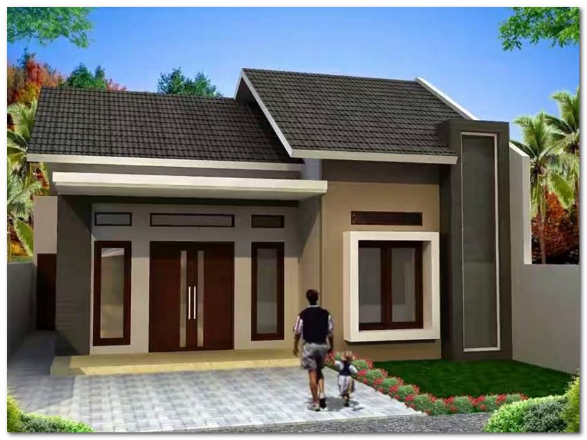 Contoh Desain Rumah Minimalis Sederhana 3 Kamar Desain Rumah Unik
