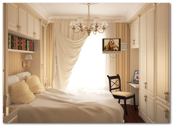 dekorasi ruang kamar tidur sempit