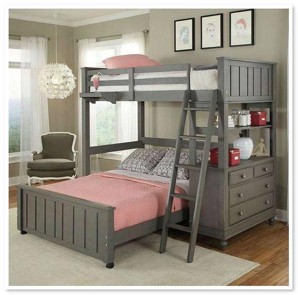 Desain Bunk Bed Anak Paling Keren dan Unik