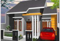 desain mungil rumah minimalis sederhana 2 kamar tidur