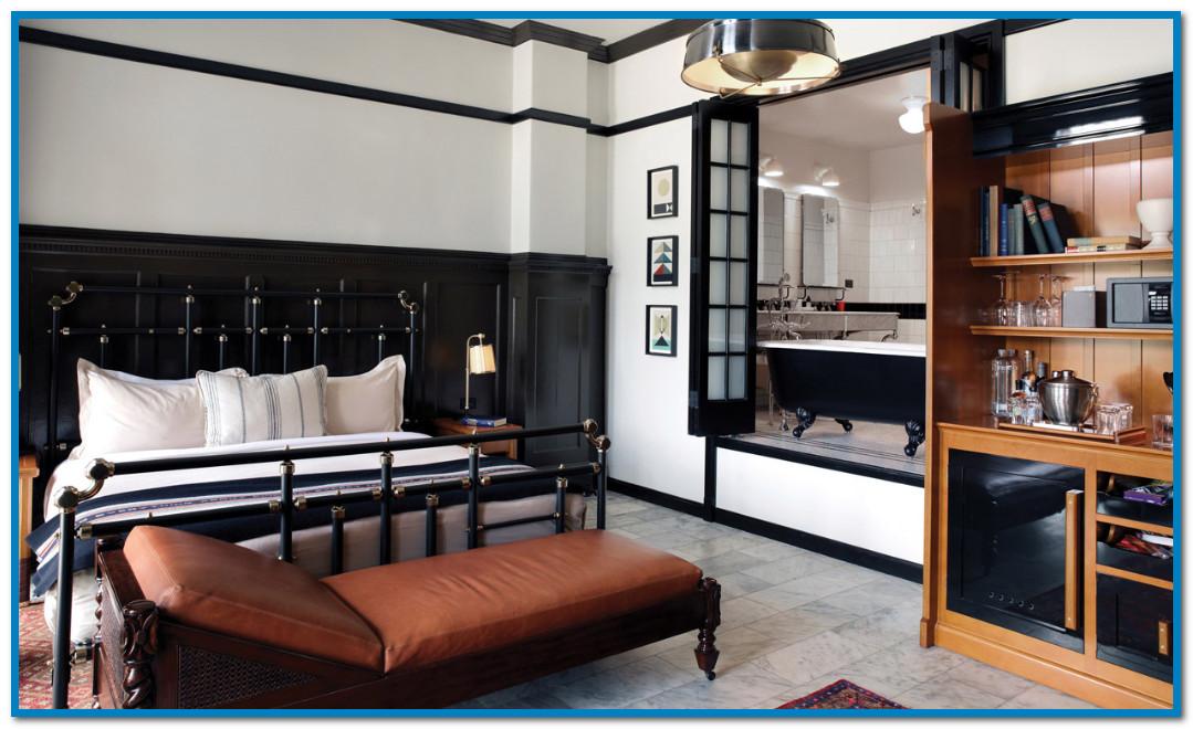desain ruang kamar tidur yang klasik