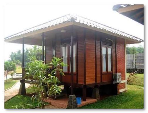 inspirasi desain rumah kayu yang unik desain rumah unik