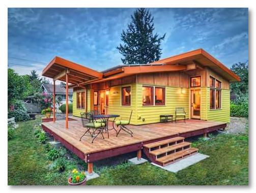 desain rumah kayu yang bagus