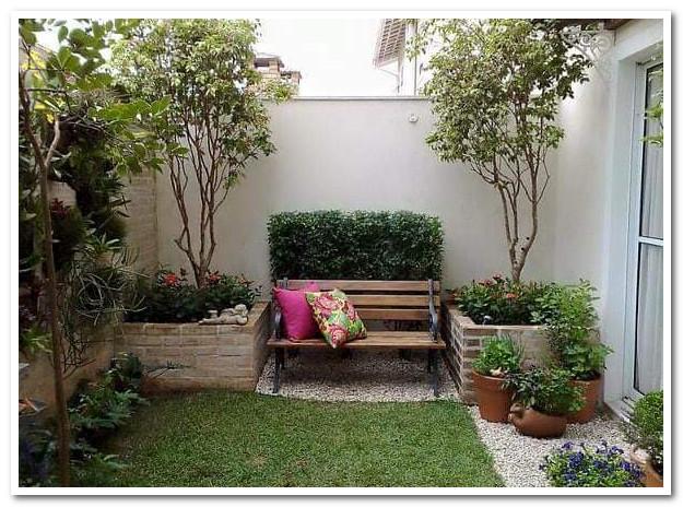 desain taman terbuka minimalis rumah anda