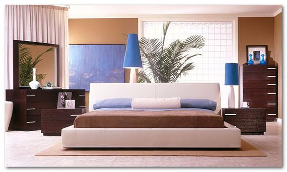 furnitur set untuk kamar tidur minimalis