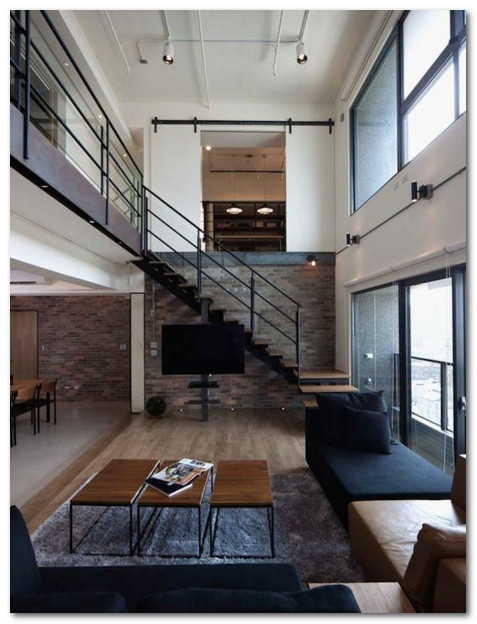 interior ruangan hiburan rumah bergaya modern nuansa gothic