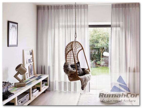 model vitrage dan gorden minimalis yang keren