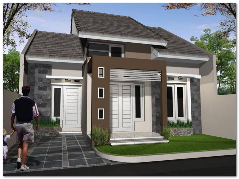 rumah minimalis sederhana pas untuk keluarga kecil anda