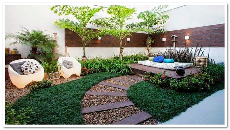 taman rumah minimalis dan nyaman